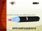 Compatible NPG28 empty toner cartridge for IR2016/2018/2020/2022/2025/2030