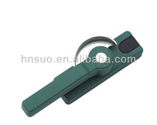 diversi tipi di alluminio verde finestra battente serratura