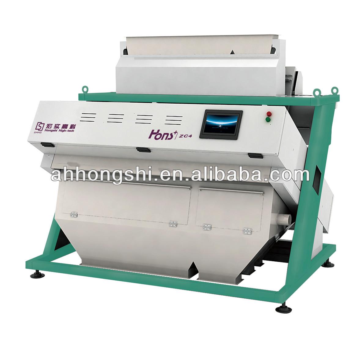 CCD Dry fruit,vegetables color sorter machine