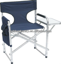Flding director chair with table & side packet DY4257