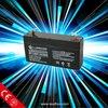 lead acid accumulator 6v 1.2ah marine battery