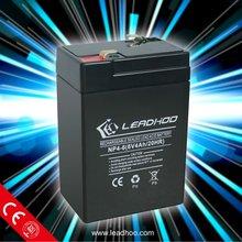rechargeable sealed lead acid battery 6v4ah