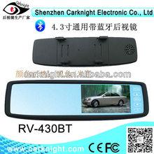 Carro espelho retrovisor bluetooth Car kit ID display agenda telefônica