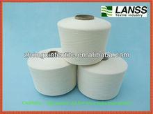 raw white ring spun viscose polyester blended yarn 65/35 80/20 90/10