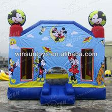 2012 Zhengzhou top sale inflatable bounce ,meet CE and EN71 standard