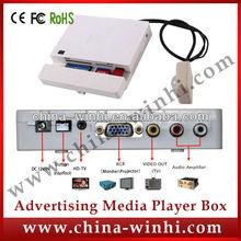 plastic shell indoor supermarket multimedia motion sensor media player advertising promotional products