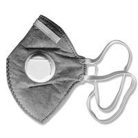 vertical fold flat dust mask n95