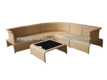 virginia classic KD style rattan/wicker Sectional living room Sofa Set/lounge