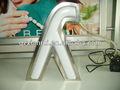 3D retroiluminado signo de la letra de la publicidad de productos shopfront amplio logo