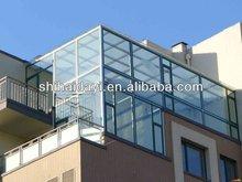 parapet glass