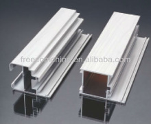 Anodized aluminum profile for building materials