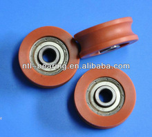 U grooved POM plastic ball bearing pulley 30MM