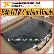 Carbon Fiber Hood For BMW E46 GTR Style