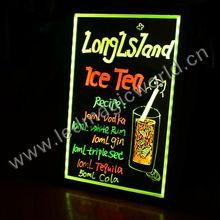 RGB Lighting Acrylic Painting LED Writing Board