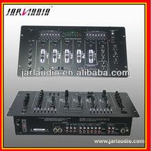 4 channel Professional DJ mixer pro audio mixer console