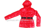 Slim fit coat for young beautiful ladies padding jacket