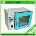 pequeno laboratório de forno de secagem de lítio para celular bolsa eletrodo baking