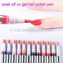 3 in 1 one step soak off uv gel nail polish pen