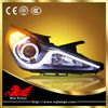 2009-2013 Hyundai Sonata Bi-xenon Projector Headlamp with Angel Eye V2