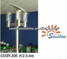 50w Solar Panel 25w LED light 4-6M Solar Street Light