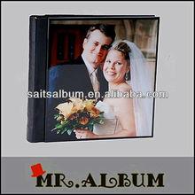 2013 low price wedding photo album with acrylic cover cheap wedding photo book