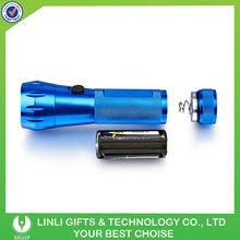 Aluminum power led emergency flashlight