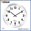 Oversized Wall Clocks WH-9975 16 Inch Metal Wall Clock Clear Dial Design Wall Metal Clock