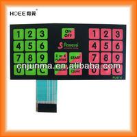 tactile membrane keypad producer /manufacturerChina