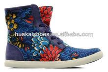 2013 women fashion casual shoes multicolor hi top lady sneaker