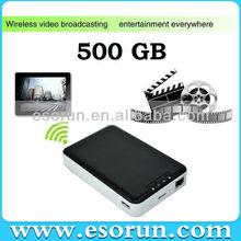 500GB 5400RPM IDE Wireless Hard Disk Drives