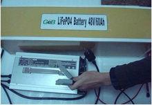 li-ion battery 48v 60ah rechargeable car battery