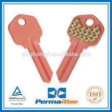 Brass Color key with diamond