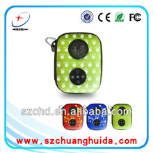 popular appearance portable gift speaker bag for ipod mp3 iphone itouch HTC SUMSUNG