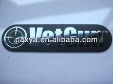 Customized electroform stamping metal nameplate
