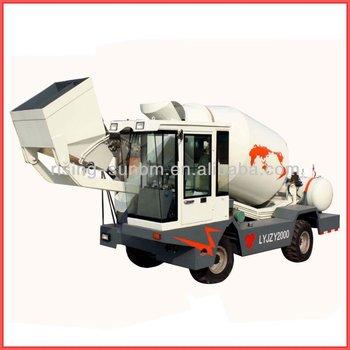 3.5CBM self loading mobile concrete mixer LYJZY3500