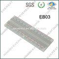 Bb830 lötfreie stecker- in steckbrett, 830 binden- punkte, 4 macht schienen, x x 6.5 2.2 0.3in( 165 x x 54 8.5mm)
