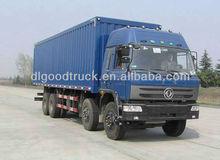 8x4 food box van truck