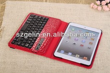 2013 crocodile pattern abs bluetooth keyboard case for ipad 2