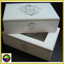 Luxury custom cupcake boxes/Mini cupcake box