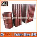 reutilizables q235 columna de acero de hormigón encofrado del sistema para la construcción de edificios
