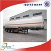 WONDEE Hot Sale 45cbm 3 Axle Oil Tank Semitrailer