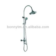 chrome plated bath shower sets in toilet BN-2022
