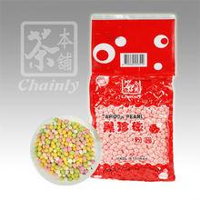 Bubble Tea Pink Red Tapioca Pearl