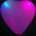 blinkende großen ballon herzform
