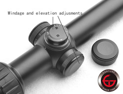 Riflescope 1-6x24 (30mm) Red/Green Illuminated Glass Mil Dot Reticle Rifle Scope Use For Strong Recoil Gun Rifle Scopes