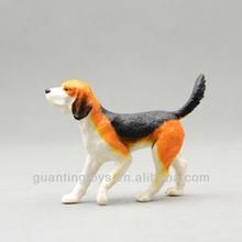 plastic cartoon animal dog figure;cartoon figure dog toys;plastic cartoon figure