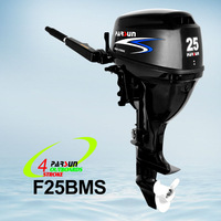 25HP 4-stroke, power trim&tilt, electric start,12V DC output,CE and EPA approved