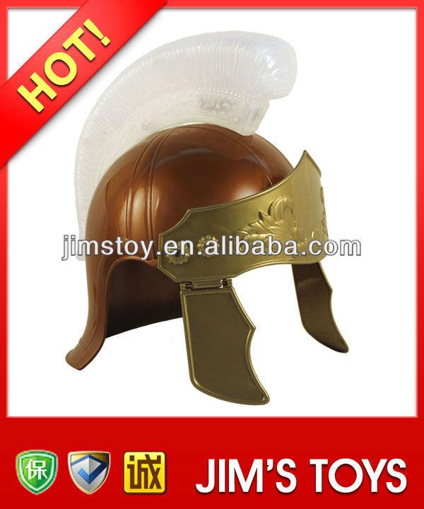 Roman Warrior Helmet Plastic Roman Helmet with LED for Parties & Carnival & New year