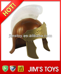 Roman Warrior Helmet Plastic Roman Helmet with LED for Parties & Carnival & New year