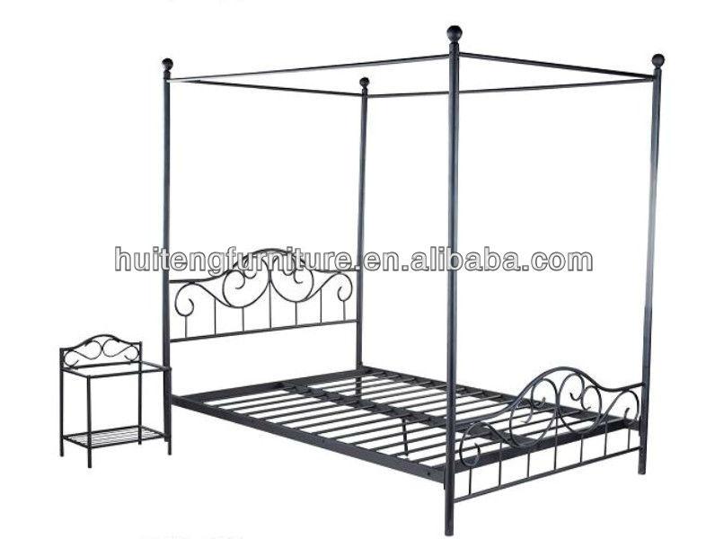 baldachin metall bett metalbett produkt id 801760345. Black Bedroom Furniture Sets. Home Design Ideas